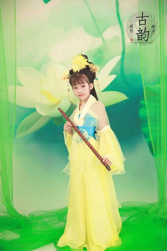 小公主-儿童摄影-我爱古装网
